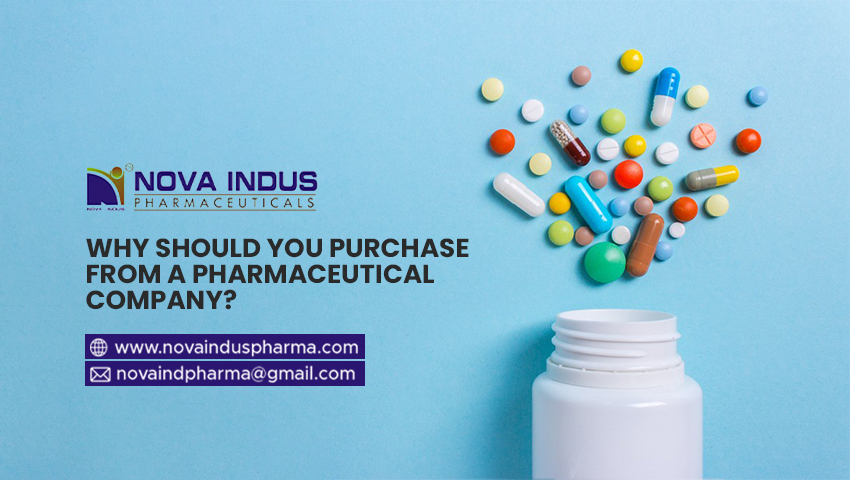 Why Should You Purchase from a Pharmaceutical Company?